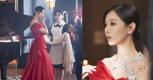 Cuộc chiến thượng lưu hé lộ phần 2: Seo Jin lộ diện với váy đỏ sang chảnh, mặt vẫn ác như xưa