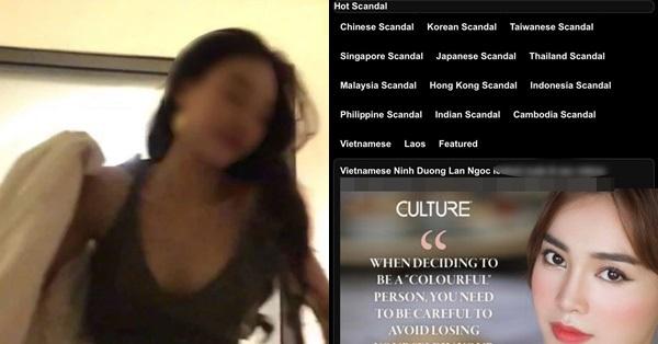 Phản ứng của phía Ninh Dương Lan Ngọc trước nghi vấn bị phát tán clip nóng trên web đen - giá vàng 9999 hôm nay 311