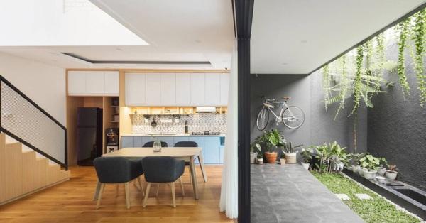 Nhà phố với diện tích 50m² được thiết kế linh hoạt với nhiều công năng bất ngờ
