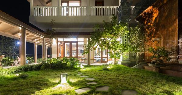 Nhà vườn gần 500m² đậm nét kiến trúc Bắc Bộ dành cho gia đình 3 thế hệ ở Hà Nội