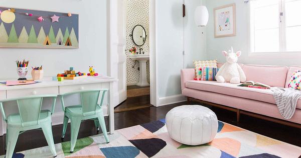 4 xu hướng màu sắc và phong cách thời thượng của năm 2021 trong trang trí phòng bé