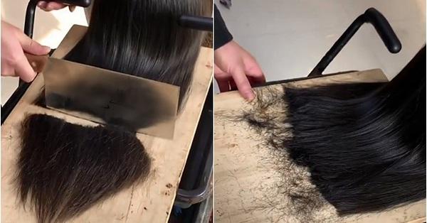 Làm tóc kiểu mới khiến hội chị em chạy mất dép: