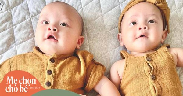 Cặp sinh đôi nhà Hồ Ngọc Hà