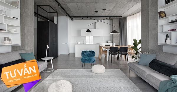 Tư vấn thiết kế căn hộ rộng 88m² cho gia đình nhỏ ở quận Hoàng Mai, chi phí bỏ ra chỉ 118 triệu đồng