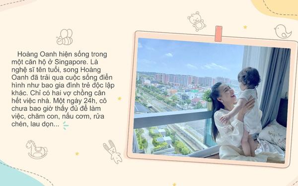 Á hậu Hoàng Oanh trải lòng về cảm xúc lần đầu làm mẹ: Có con cực mà vui!