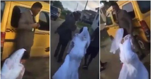 Xúng xính váy áo đến nhà thờ tổ chức hôn lễ, chú rể bất ngờ thấy một hành động của cô dâu liền lập tức hủy hôn mặc lời van xin