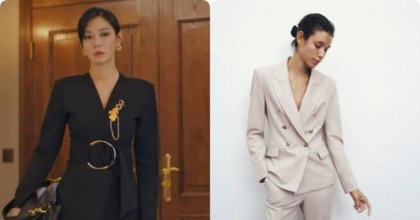 """""""Cháy hàng"""" chiếc blazer Zara mà Tiểu tam của Penthouse mặc, chị em muốn sang xịn như vậy chi bằng sắm ngay những mẫu này"""