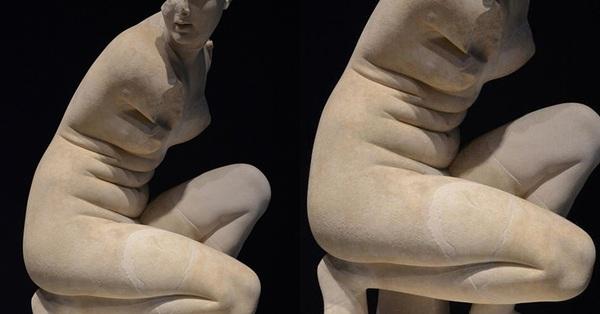Đến nữ thần sắc đẹp Aphrodite cũng còn lồ lộ từng ngấn mỡ bụng thế này, chị em ngại gì mà không tự tin khoe dáng!