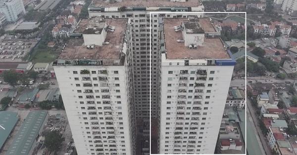 Hà Nội: Cận cảnh tòa chung cư