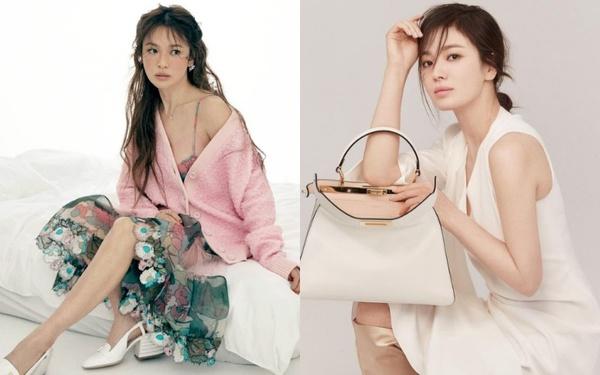 Song Hye Kyo hay bị dân tình chê thiếu khí chất thời trang nhưng cô đã có cú