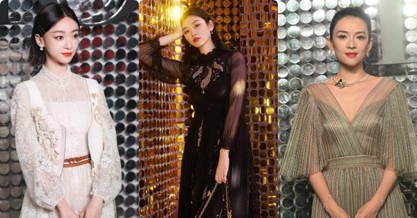 Dự show Dior, Ngô Cẩn Ngôn lấn át từ