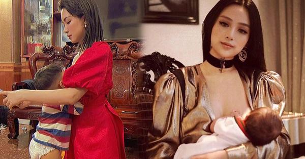 Sao Việt khoe ảnh cho con bú: Hòa Minzy nhìn rõ khổ, Huyền Baby thần thái ngút trời, Lan Phương gây choáng nhẹ vì ngực đẹp