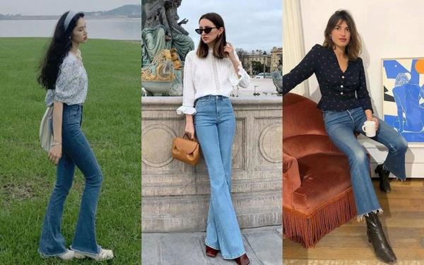 Kiểu quần jeans hack dáng cực đỉnh, vừa dài chân vừa tôn vòng 3