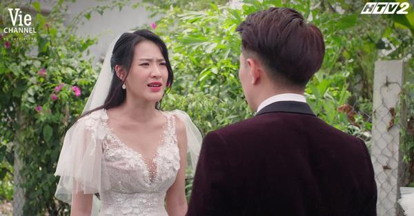 Cây táo nở hoa: Trúc (Minh Trang) xách váy cưới đại chiến với tình địch đang có bầu, đòi hôn Dư (Song Luân) ngay sau khi bị phản bội