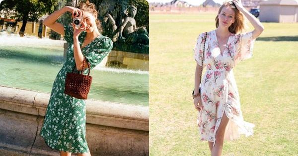 Váy quấn hack dáng vi diệu, nhưng nếu không biết chiêu mặc đẹp đến từ gái Pháp thì chưa thể có được 100% duyên dáng