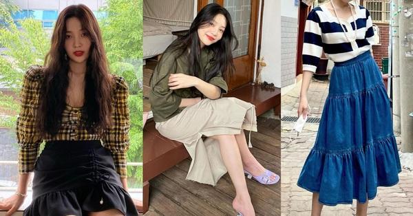 Chị em rất nên học Joy (Red Velvet) cách diện chân váy không chỉ sang chảnh mà còn hack được vài tuổi