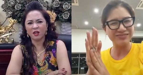 """Trang Khàn đã nói về bà Phương Hằng - vợ ông Dũng """"lò vôi"""" như thế nào mà bà livestream đối lại """"vẫn là con bán đồ online""""? - VNReview Tin mới nhất"""