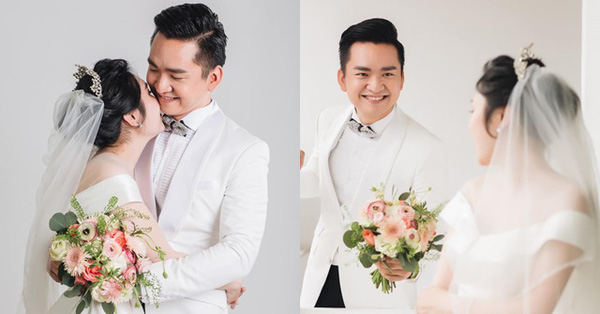 MC Hạnh Phúc của VTV - Chuyển động 24h bất ngờ khoe ảnh cưới, nhan sắc cô dâu dù nhìn nghiêng cũng thấy đẹp vạn phần