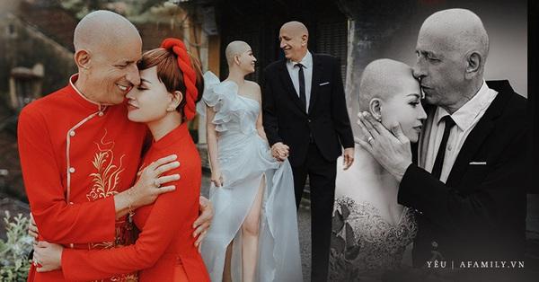 Chuyện tình của cặp đôi vợ Việt chồng Mỹ chênh nhau 37 tuổi: Cô dâu làm việc