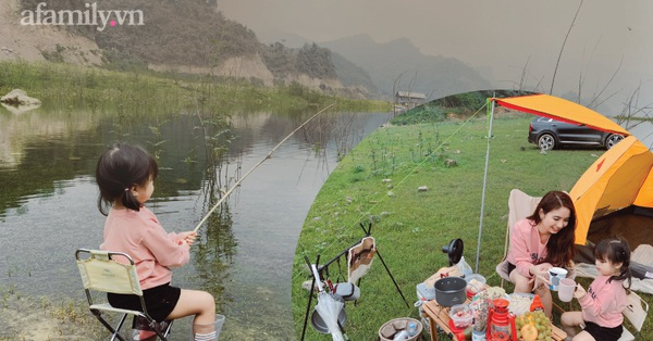Ngay gần Hà Nội có một khu cắm trại cực chill cho gia đình có trẻ nhỏ, chỉ cần giơ máy lên là có ảnh đẹp, góc nào góc nấy xinh xỉu