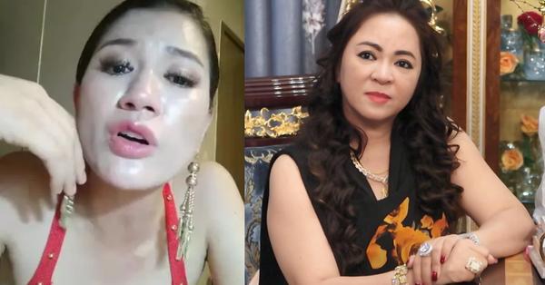 """Trang Khàn livestream gửi lời tới bà Phương Hằng - vợ Dũng """"lò vôi"""": """"Cháu nghèo hơn cô thật, cháu đeo hột xoàn giả nhưng cháu cũng đâu xin tiền cô"""""""