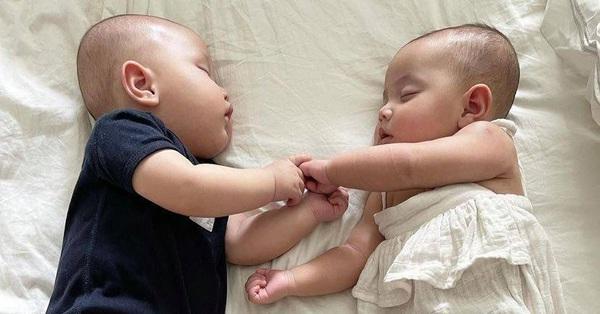 Lisa - Leon nhà Hồ Ngọc Hà khi ngủ nắm tay nhau cực yêu nhưng lúc thức lại tếu táo thế này đây