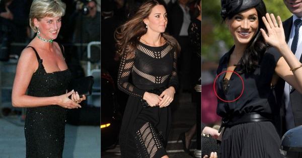 12 bộ đầm đen gây bão Hoàng gia Anh: Hai cô con dâu thua hết mẹ chồng ở khoản o ép vòng 1