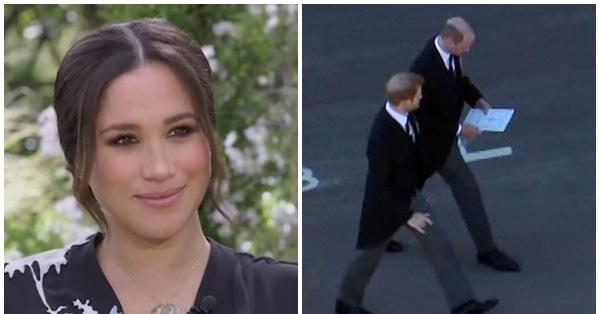 Tiết lộ nội dung cuộc trò chuyện hàn gắn giữa Hoàng tử William và em trai Harry, Meghan lên tiếng