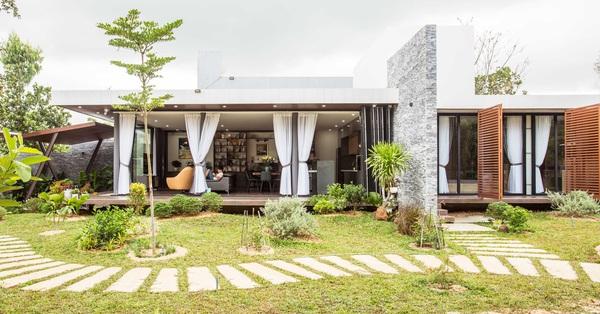 Gia đình Quảng Nam với ngôi nhà 1 tầng giữ nếp tam đại đồng đường, bên trong đẹp như khu nghỉ dưỡng