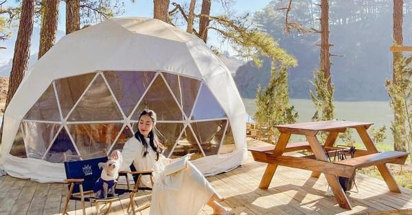 Đi du lịch Đà Lạt thì bạn đừng quên tham khảo ngay tour trải nghiệm cắm trại glamping sang chảnh đang hot rần rần, giá chỉ từ 400K
