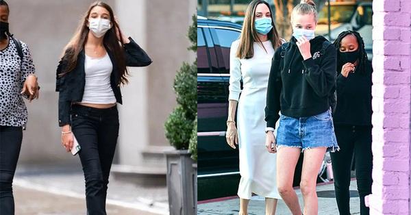 So kè vóc dáng nổi bật cùng chiều cao khủng của con gái Angelina Jolie và Tom Cruise