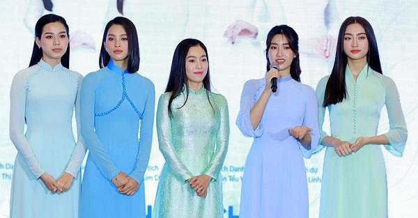 Hoa hậu U50 Hà Kiều Anh xuất hiện bên dàn Hoa hậu 10X - Tiểu Vy, Lương Thùy Linh liệu dung nhan đỉnh cao ngày nào có bị lấn át?