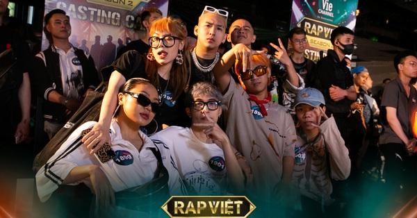 Casting Rap Việt Hà Nội cực hoành tráng: 16 Typh tháp tùng anh em đi thi, RichChoi - Chị Cả - Pháo bất ngờ lộ diện