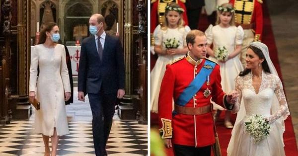Kỷ niệm 10 năm ngày cưới của vợ chồng William - Kate, nhìn lại loạt khoảnh khắc