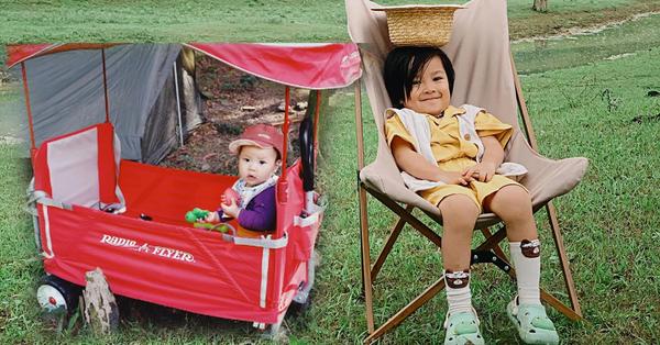 Bố mẹ đừng ngại đưa con đi cắm trại ngoài trời, có cả tá đồ hay ho và tiện ích giải quyết mọi nhu cầu từ ăn - ngủ đến đi vệ sinh của trẻ đây