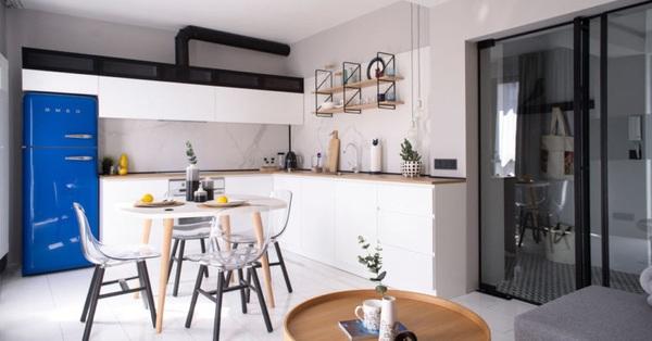 Căn hộ 48m² đủ tận hưởng cuộc sống tiện nghi với thiết kế đương đại
