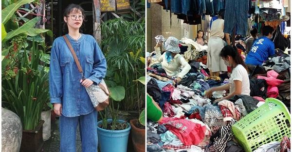Cô gái săn hàng thùng từ năm 13 tuổi, món nào cũng chỉ 200.000 đồng quay đầu bật mí mẹo đi chợ second-hand ở Đà Nẵng