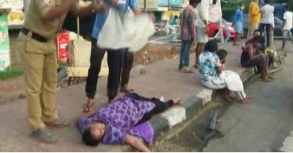 Sự thật phía sau đoạn clip người dân Ấn Độ mắc Covid-19 ngã gục, nằm la liệt trên đường phố