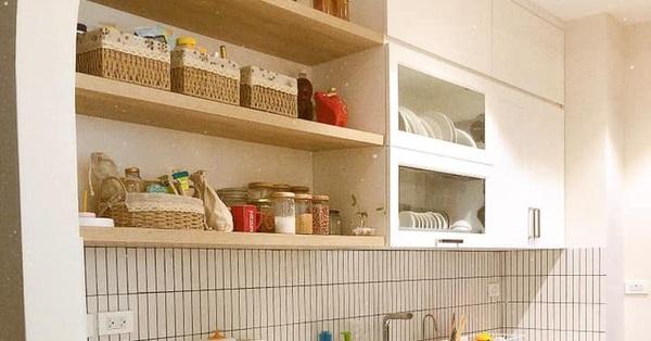 Căn bếp của mẹ đảm Hà Nội gọn đẹp, ngăn nắp như trong tạp chí nhờ học hỏi bí quyết tối giản của người Nhật