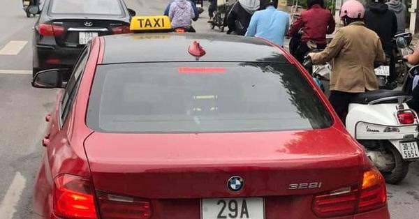 Hà Nội: Xe sang BMW tiền tỷ gắn