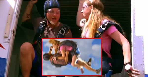 Đang nhảy dù, cặp đôi mạo hiểm