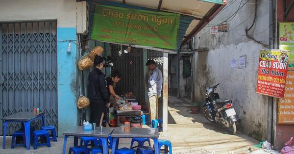 NÓNG: Kiểm tra quán cháo ở Hà Nội bị tố bán hàng kèm