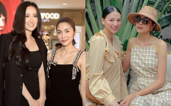 Hà Tăng khi chung khung hình với dàn Hoa hậu: Dù makeup đậm hay nhạt cũng không
