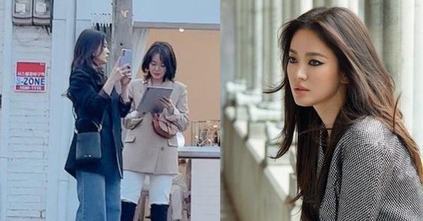 Song Hye Kyo bất ngờ bị người qua đường