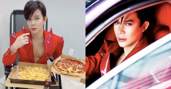 Nathan Lee nhá hàng MV mới đỏ rực, clip hậu trường khoe cảnh ăn uống vẫn đạt hơn 2 triệu view
