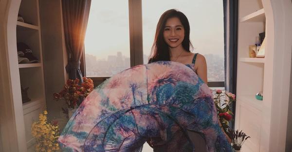 Xoay váy như H'Hen Niê nhưng bà xã Shark Hưng lại khiến dân tình
