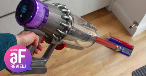 Sau 4 tháng sử dụng máy hút bụi không dây Dyson, mẹ Vũng Tàu khẳng định: