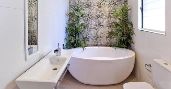 """5 mẫu bồn tắm mini siêu """"chất"""" dành cho phòng tắm nhỏ"""