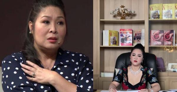 """Bà Phương Hằng lại gọi tên một nghệ sĩ nữa """"lên sóng"""", nói thẳng NSND Hồng Vân với nhiều lời lẽ nặng nề:"""
