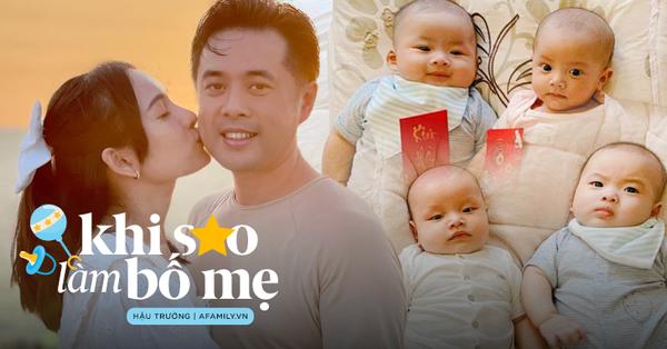 """Vợ chồng Dương Khắc Linh - Sara Lưu: Vui khi các con là """"thanh mai trúc mã"""" với Leon - Lisa nhà Hồ Ngọc Hà"""
